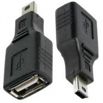 ADAPTADOR USB FEMEA P/ MINI USB
