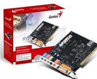 PLACA DE SOM PCI 5.1 CHANNEL GENIUS SM-LIVE VALUE 5.1