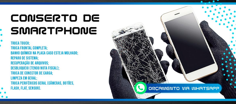 Conserto de smartphone